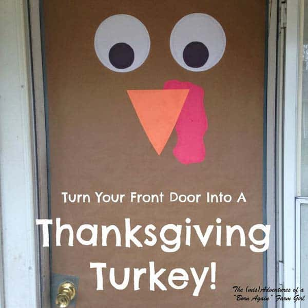 15 Super Smart Last Minute Turkey-Inspired Decor and Crafts For Your Thanksgiving (11)