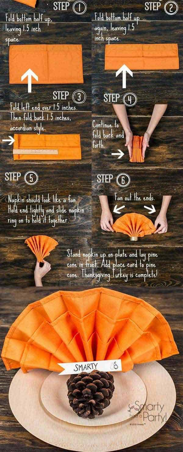 15 Super Smart Last Minute Turkey-Inspired Decor and Crafts For Your Thanksgiving (12)