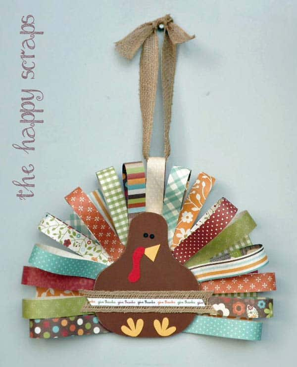 15 Super Smart Last Minute Turkey-Inspired Decor and Crafts For Your Thanksgiving (15)