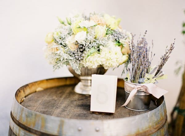 #5 use vintage elements to highlight floral arrangements