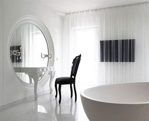 17 Beautiful Interior Spaces Transformed By Mirros homesthetics decor (10)