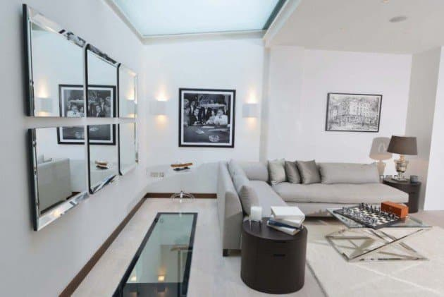 17 Beautiful Interior Spaces Transformed By Mirros homesthetics decor (13)