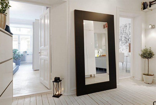 17 Beautiful Interior Spaces Transformed By Mirros homesthetics decor (2)