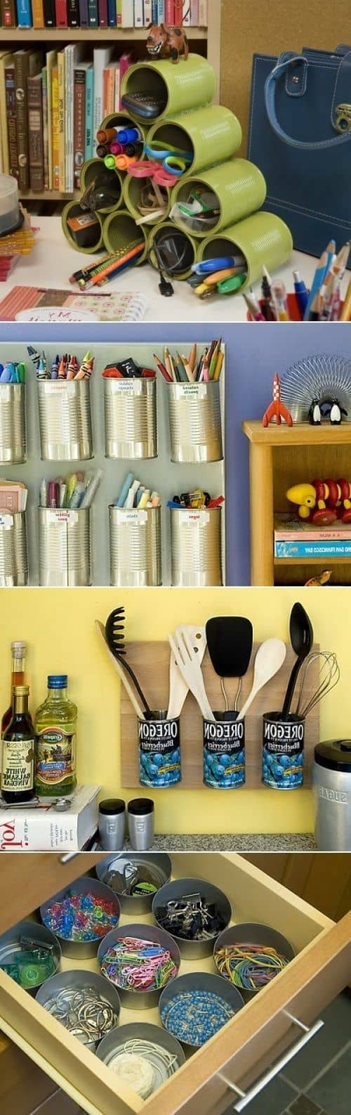 17 Innovative Ways To Recycle And Decorate Discarded Tin Cans For Everyday Use (11)