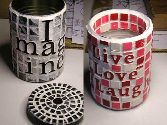 17 Innovative Ways To Recycle And Decorate Discarded Tin Cans For Everyday Use (13)