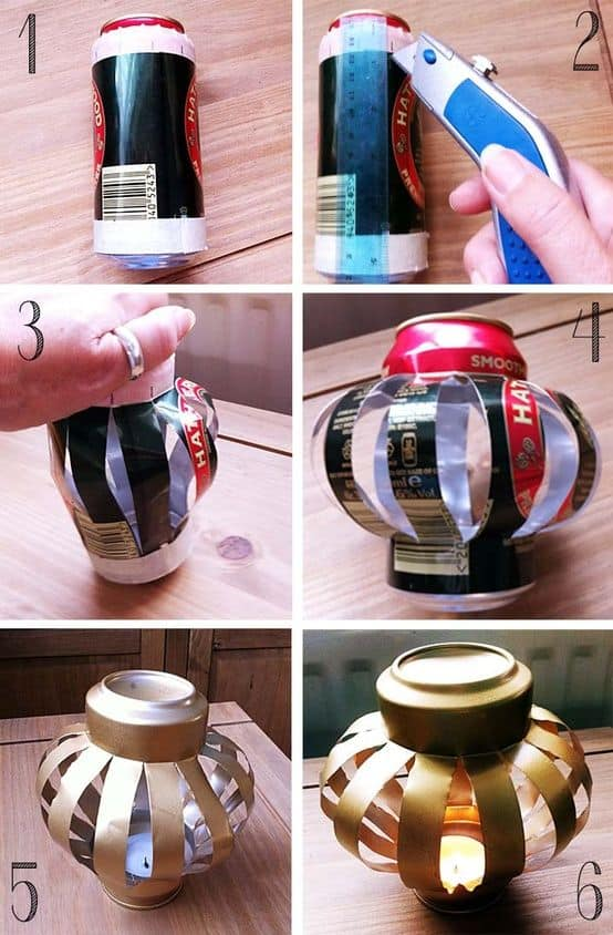 17 Innovative Ways To Recycle And Decorate Discarded Tin Cans For Everyday Use (17)