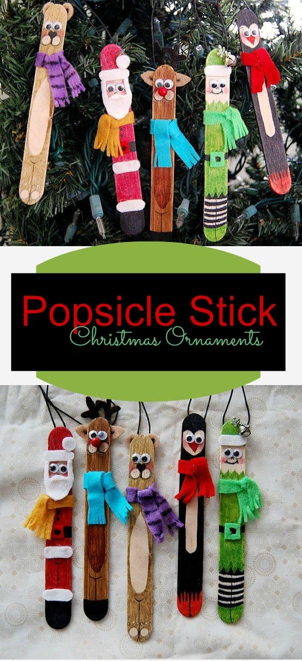 18 Clever Popsicle Craft Ideas For Your Kids This Christmas (13)