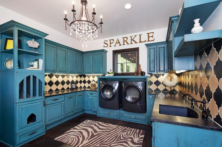 18 Stylish Laundry Ideas For Every Household (12)