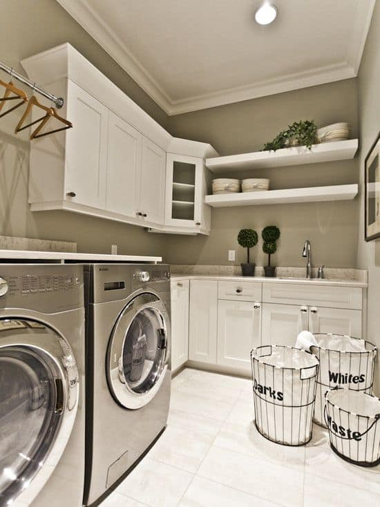 18 Stylish Laundry Ideas For Every Household (14)