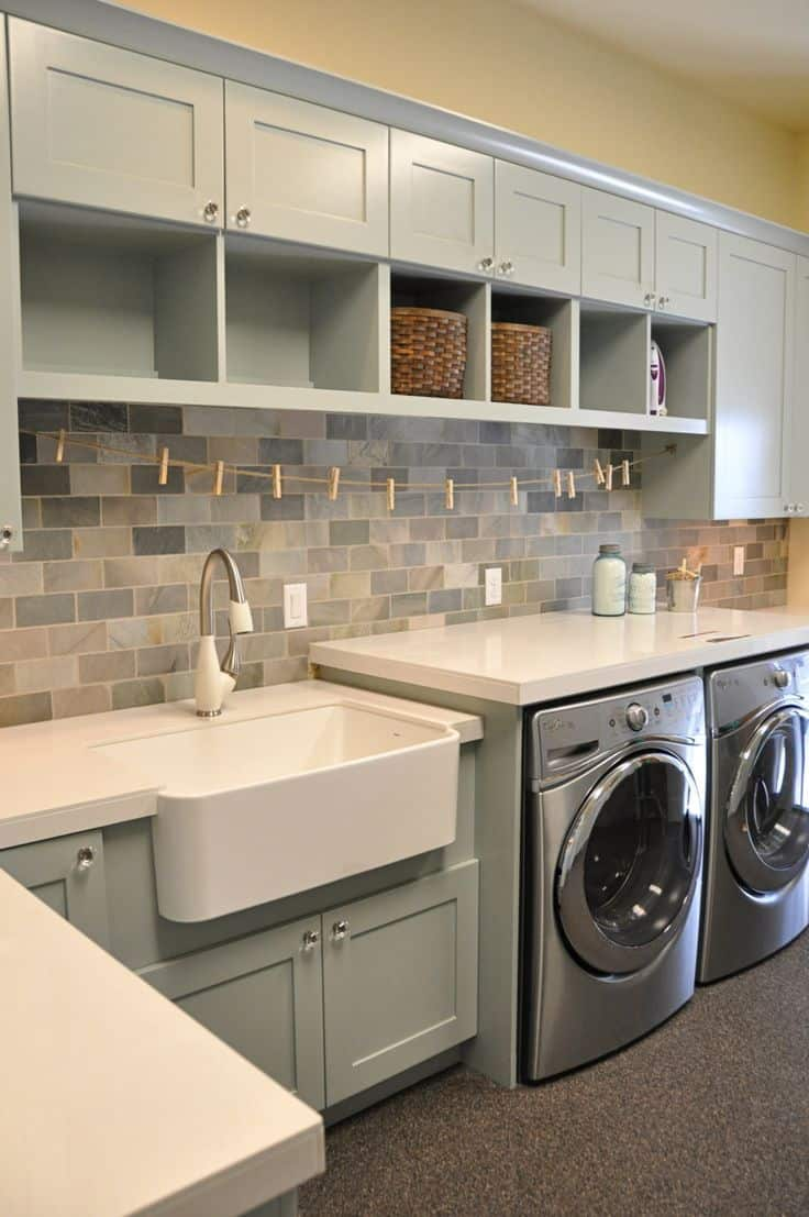 18 Stylish Laundry Ideas For Every Household (16)
