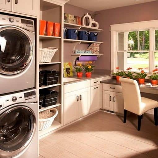 18 Stylish Laundry Ideas For Every Household (6)