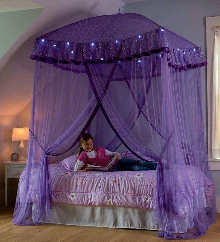 Lovely 19 Beautiful Canopy Beds That Will Create A Majestic Ambiance To Any Small  Space Bedroom (