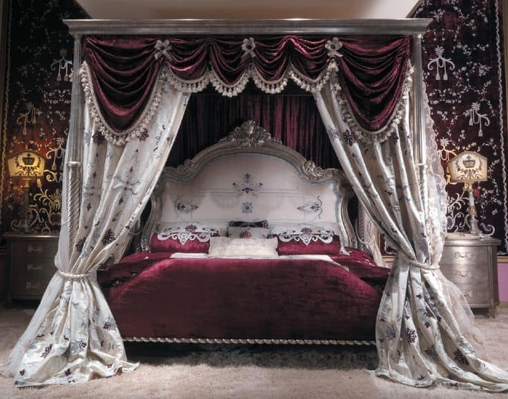 19 beautiful canopy beds that will create a majestic ambiance to any small bedroom design. Black Bedroom Furniture Sets. Home Design Ideas