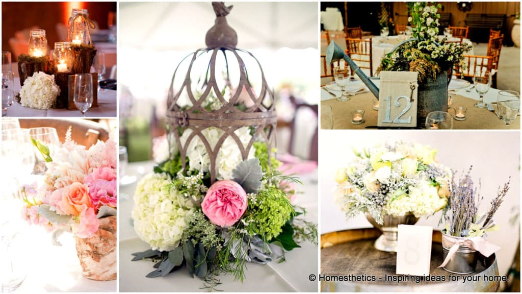 19 Charming Wedding Centerpieces For a Magical Celebrations