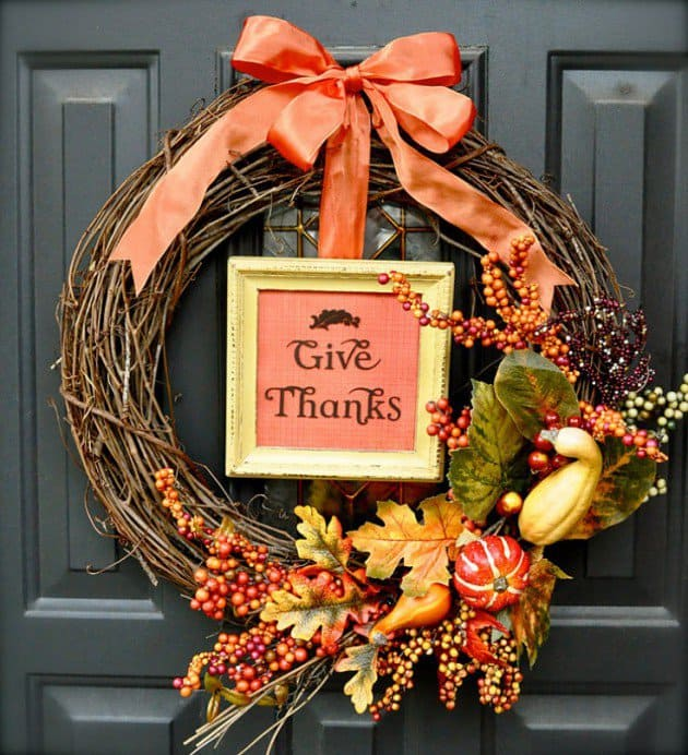 19 Neat Inexpensive DIY Thanksgiving Decoration For Every Household homesthetics decor (1)