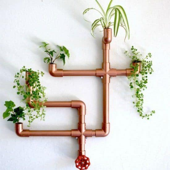 16 IMAGINE  YOUR PLANTS GETTING WATERED REGULARLY VIA COPPER PLANTING PIPES