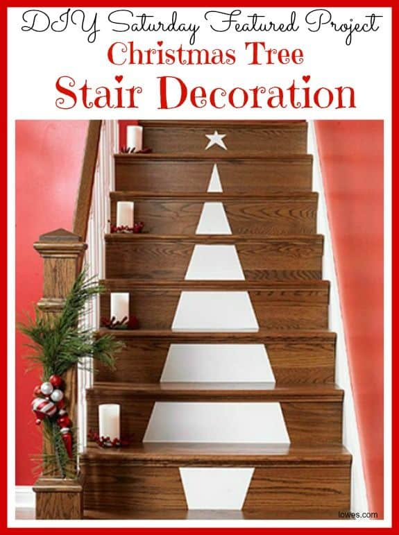 20 Magical And Crafty Ways To Decorate An Indoor Staircase This Christmas (6)