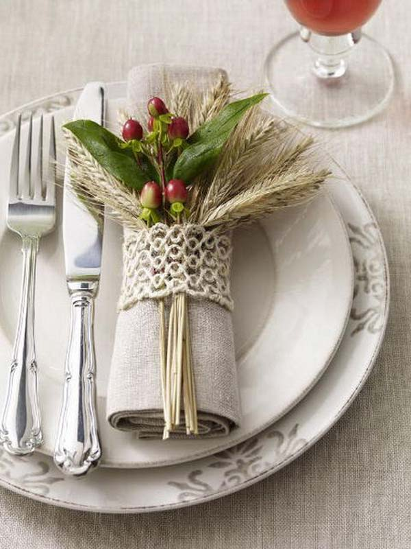 20 Super Beautiful DIY Napkin Rings For Your Cozy Thanksgiving homesthetics decor (1)