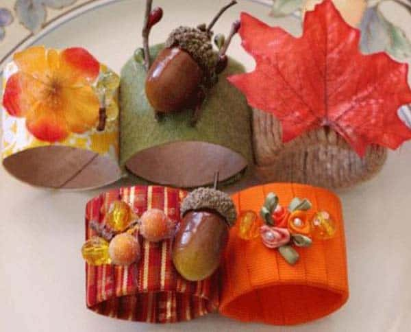 20 Super Beautiful DIY Napkin Rings For Your Cozy Thanksgiving homesthetics decor (10)