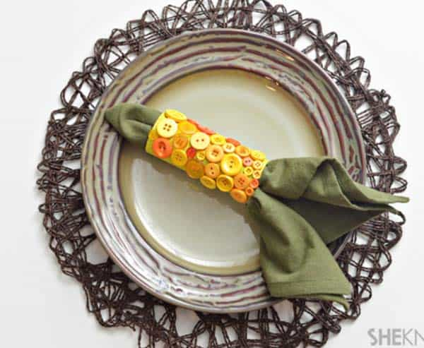 20 Super Beautiful DIY Napkin Rings For Your Cozy Thanksgiving homesthetics decor (20)