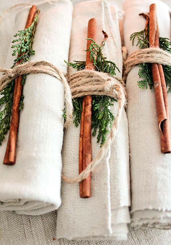 20 Super Beautiful DIY Napkin Rings For Your Cozy Thanksgiving homesthetics decor (7)