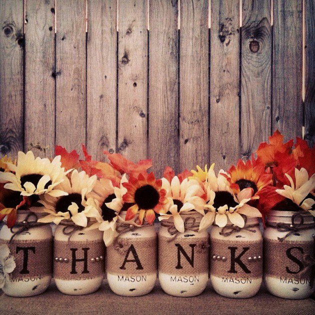 Thanksgiving Decor Ideas: 20 Super Cool DIY Thanksgiving Decorations For Your Home