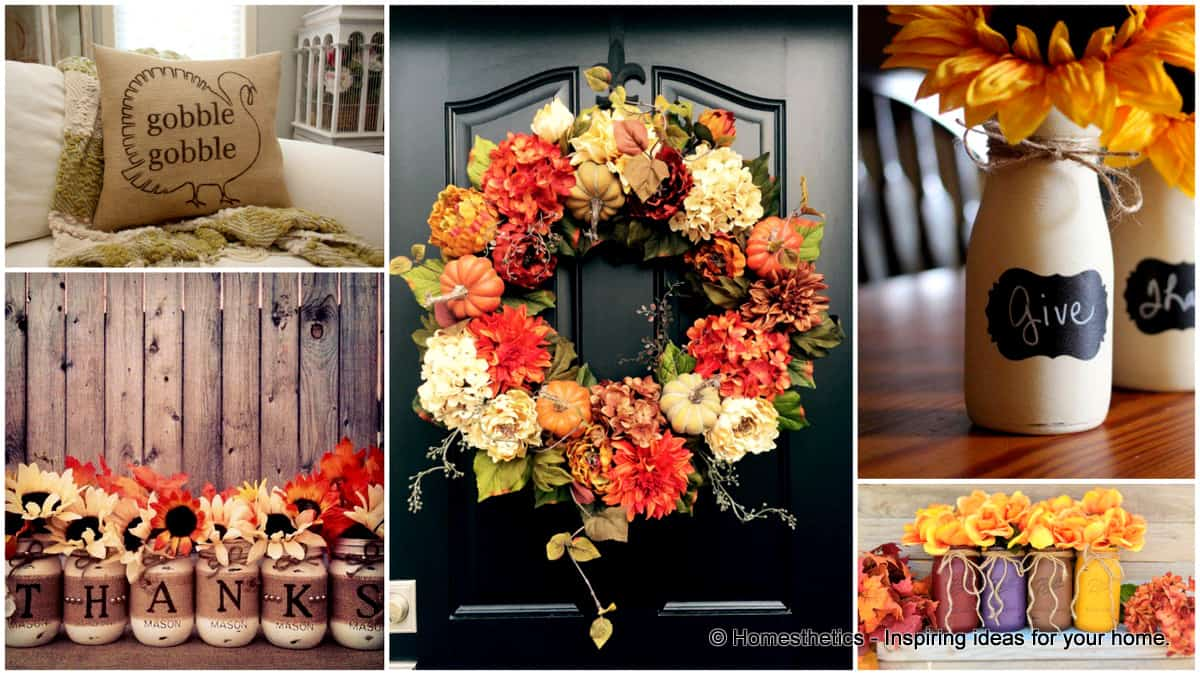 Super cool diy thanksgiving decorations for your home