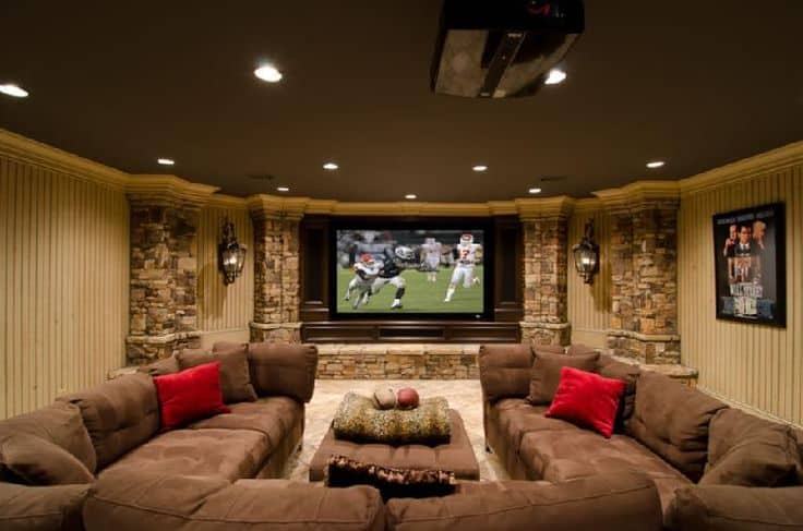 21 Interesting And Versatile Ways To Transform An Old Basement Into A Stylish Useful Area (12)