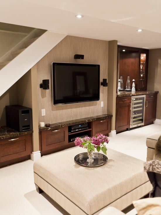 21 Interesting And Versatile Ways To Transform An Old Basement Into A Stylish Useful Area (4)