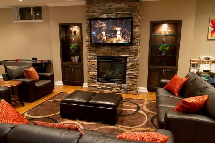 21 Interesting And Versatile Ways To Transform An Old Basement Into A Stylish Useful Area (6)