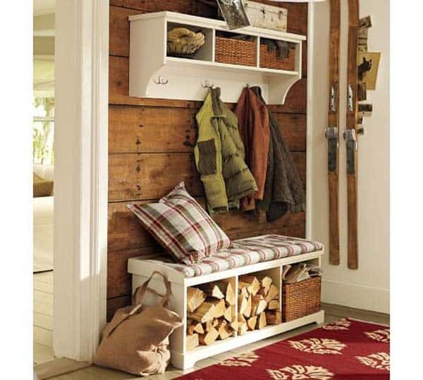 21 Stunning Firewood Storage Focal Points & Their Magical Fireplaces homesthetics decor (19)