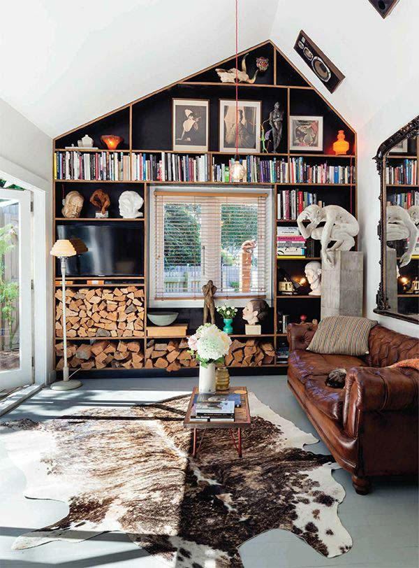 21 Stunning Firewood Storage Focal Points & Their Magical Fireplaces homesthetics decor (21)