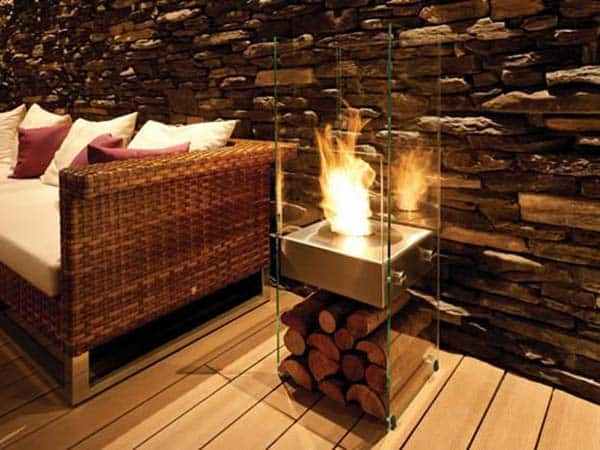 21 Stunning Firewood Storage Focal Points & Their Magical Fireplaces homesthetics decor (8)