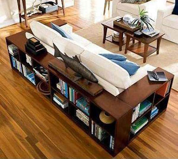 #13 WRAP YOUR LIVING AREA IN BOOKS AND KNOWLEDGE