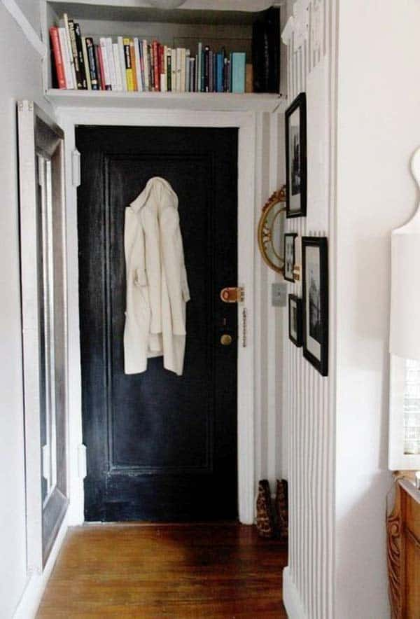 #16 ADORN YOUR HALLWAY WITH BOOKS