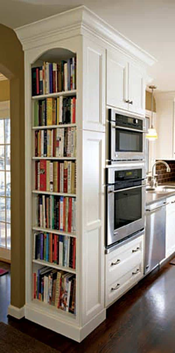 #21 ROUND CORNERS IN YOUR HOME WITH BOOKS