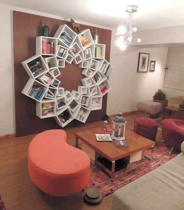 23 Cool and Ingenious Display Shelfs For a Superb Household homesthetics design (14)