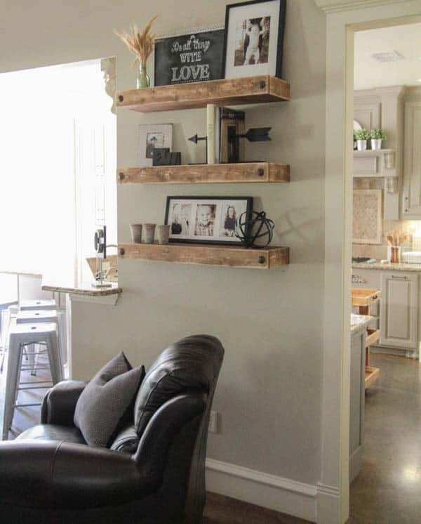 23 Cool and Ingenious Display Shelfs For a Superb Household homesthetics design (18)