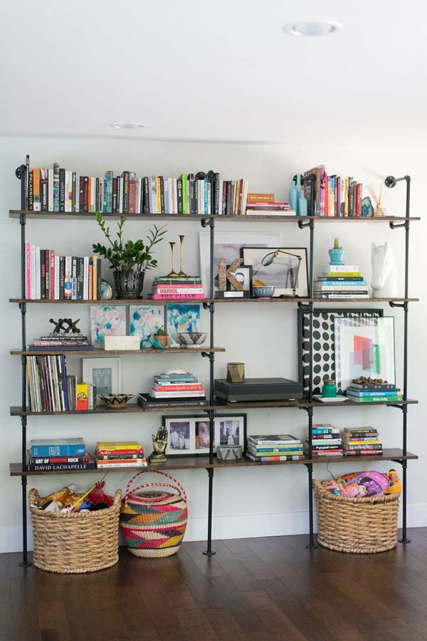 23 Cool and Ingenious Display Shelfs For a Superb Household homesthetics design (22)