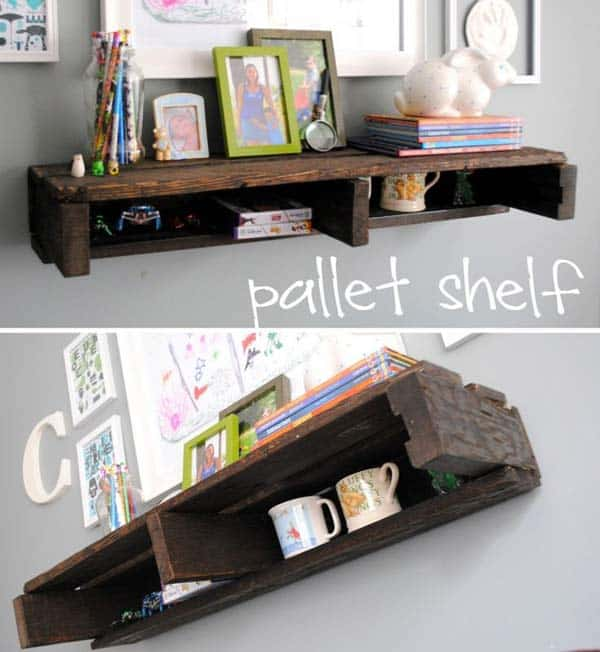 23 Cool and Ingenious Display Shelfs For a Superb Household homesthetics design (25)