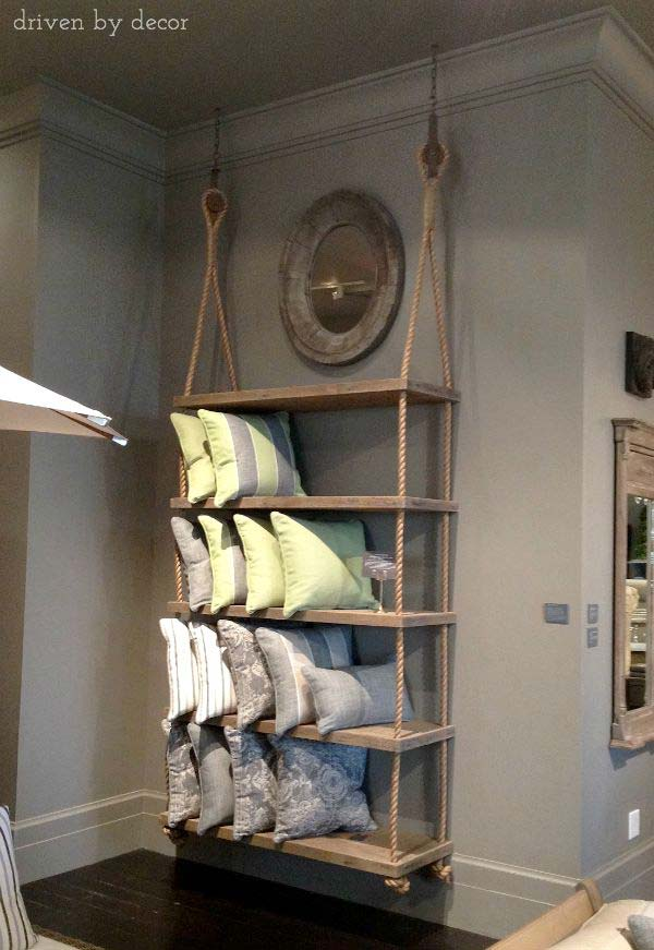 23 Cool and Ingenious Display Shelfs For a Superb Household homesthetics design (4)