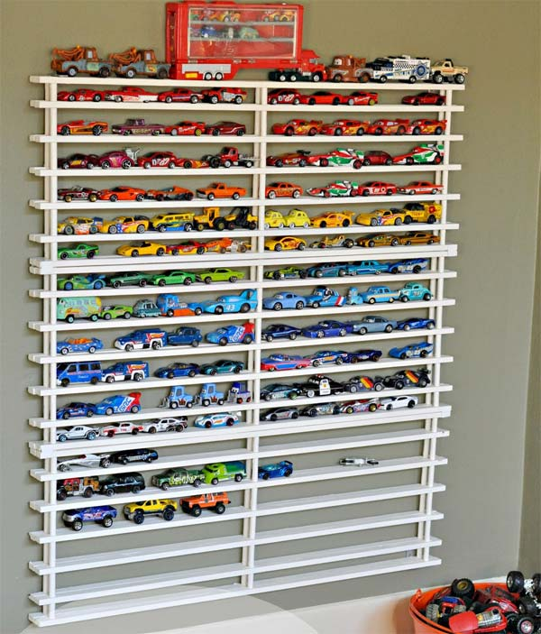 23 Cool and Ingenious Display Shelfs For a Superb Household homesthetics design (7)