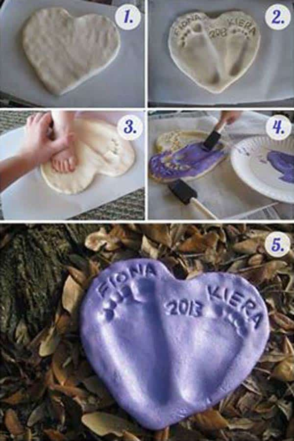 28 Fun and Playful Hand and Footprint Decor Ideas For Happy Families homesthetics fun ideas (14)