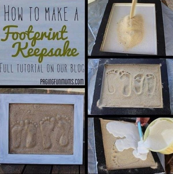 28 Fun and Playful Hand and Footprint Decor Ideas For Happy Families homesthetics fun ideas (2)