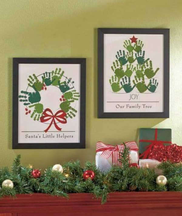 28 Fun and Playful Hand and Footprint Decor Ideas For Happy Families homesthetics fun ideas (28)