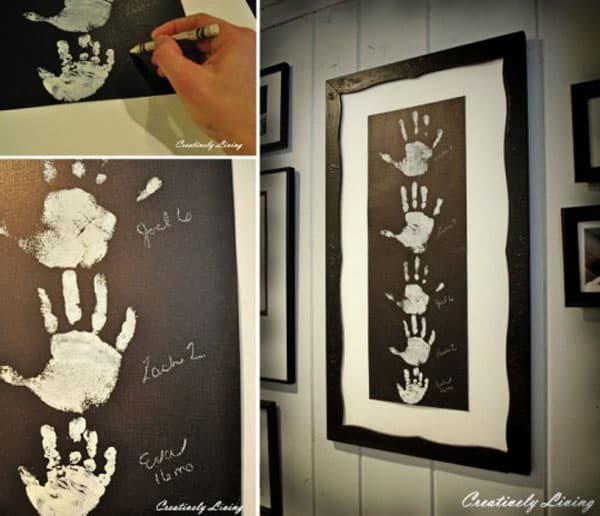 28 Fun and Playful Hand and Footprint Decor Ideas For Happy Families homesthetics fun ideas (4)