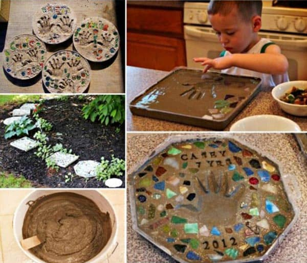 28 Fun and Playful Hand and Footprint Decor Ideas For Happy Families homesthetics fun ideas (5)