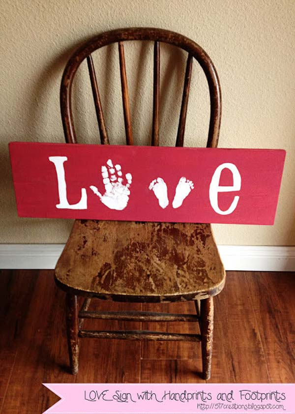 28 Fun and Playful Hand and Footprint Decor Ideas For Happy Families homesthetics fun ideas (8)