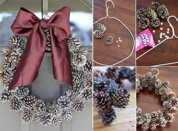 36 Mindbogglingly Magical DIY Christmas Wreaths For Your Home (10)
