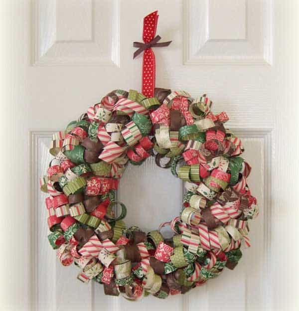 36 Mindbogglingly Magical DIY Christmas Wreaths For Your Home (14)